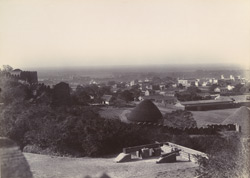 Panoramic view of Junagadh from the old fortress 2667